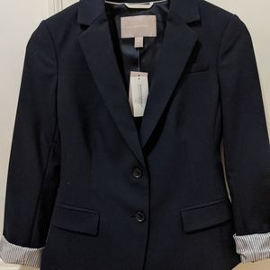 Banana Republic Blazer - Navy 0P